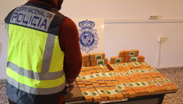 Dos detenidos en Imarcoain con 30 kilos de heroína en su vehículo
