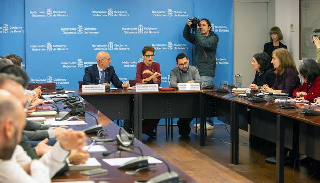 Primera reunión de la Comisión Interdepartamental de Lucha contra la Despoblación.
