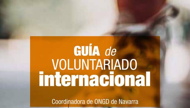 Portada de la Guía de Voluntariado Internacional.