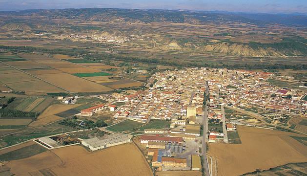 Vista de Carcastillo.