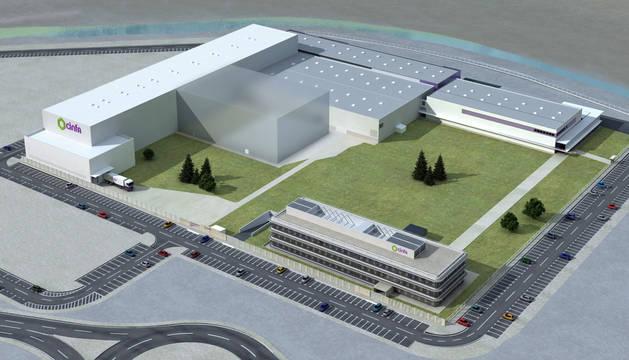 La nueva nave, que tendrá una extensión de 2.700 m2, se integrará en las infraestructuras de Cinfa en Olloki.