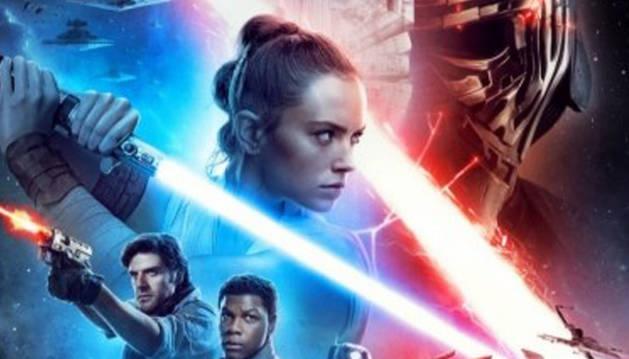Cartel de la última película de la saga Star Wars: 'El ascenso de Skywalker'.