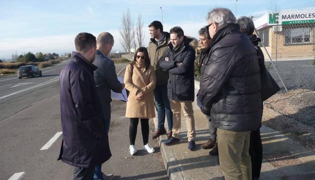 Los partidos piden desdoblar los accesos a Tudela desde Tarazona y Corella