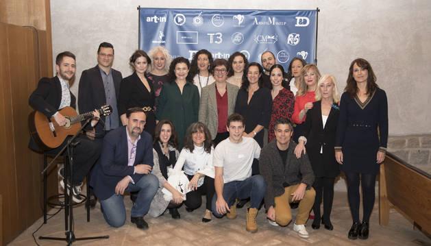 Foto de la presentación de los 13 proyectos.