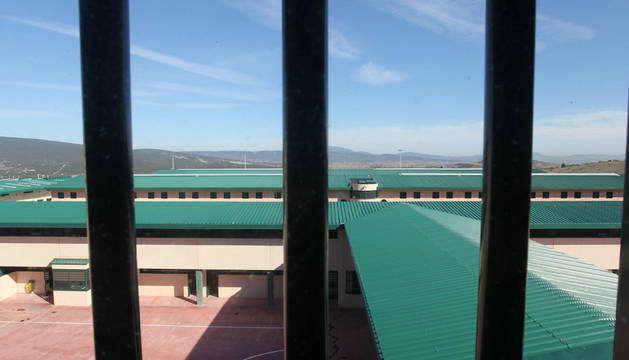 Vista de la prisión de Zaballa.