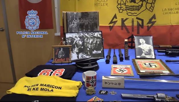 Detenido por delitos de odio, amenazas y tenencia ilícita de armas en Valencia