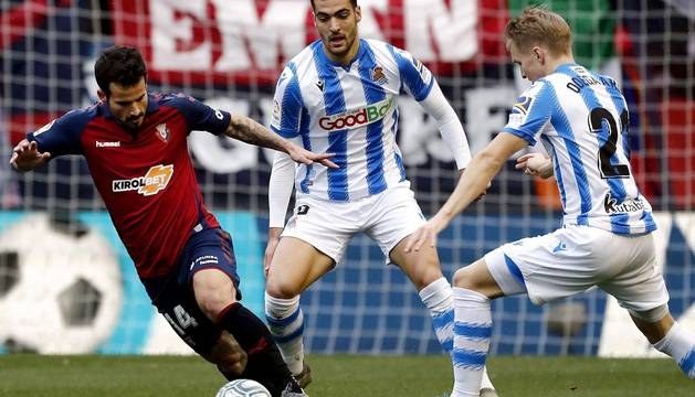 Fotos Osasuna Real Sociedad: resumen gráfico del partido disputado en El Sadar.
