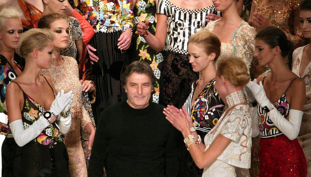 Fallece el diseñador francés de origen italiano Emanuel Ungaro