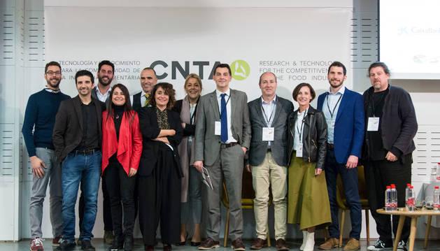 Ponentes de la jornada tecnológica anual que organiza el CNTA para las empresas agroalimientarias.