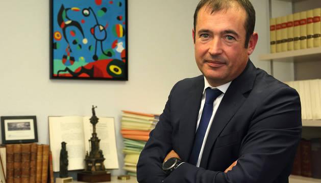 El abogado pamplonés Eduardo Ruiz de Erenchun.