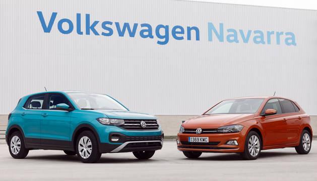 Volkswagen T-Cross y Volkswagen Polo, producidos en la factoría de Volkswagen Navarra.