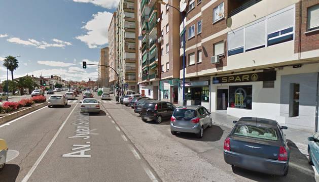Avenida Juan Sebastián Elcano, donde se han producido los hechos.