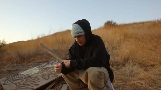 Justin Bieber, en un fotograma de su último vídeo.