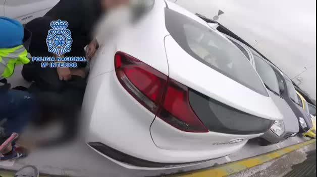 La Policía aborta la entrega de 700 kilos de cocaína en Alcalá de Henares, Madrid