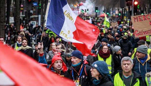 Imagen de la protesta de los