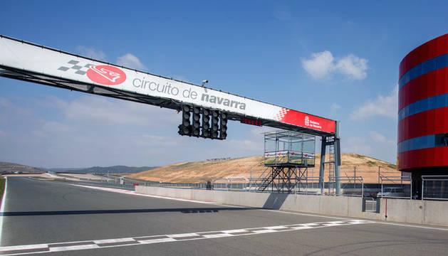 Circuito de Navarra, en Los Arcos.