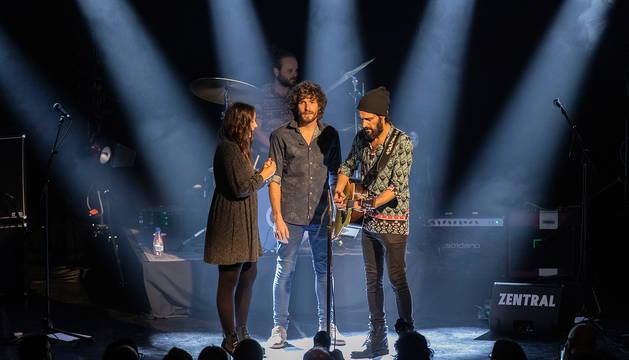 La banda Morgan, en el escenario del Zentral.