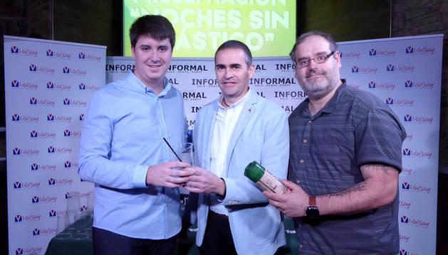 Presentación de la iniciativa 'Noches sin plástico'.