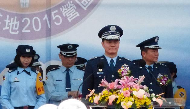 Imagen de archivo del jefe del Estado Mayor del Ejército de Taiwán, Shen Yi-ming.