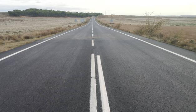 Concluyen las obras de la carretera Tudela-Fitero, con un coste de 780.000 euros