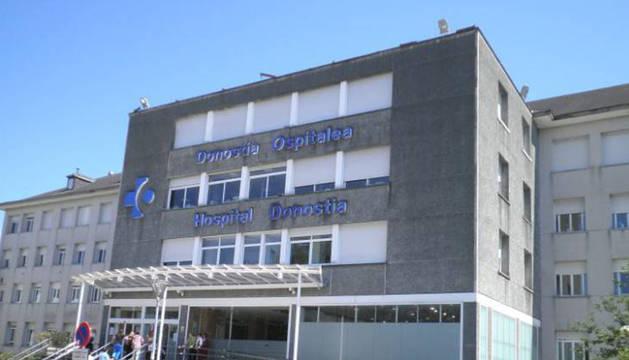Hasta la UCI pediátrica del Hospital Donostia de San Sebastián han sido trasladados bebés navarros aquejados por bronquiolitis.