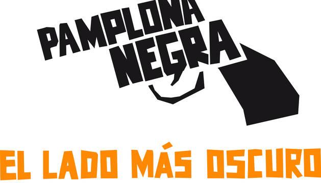 Logotipo de Pamplona Negra.