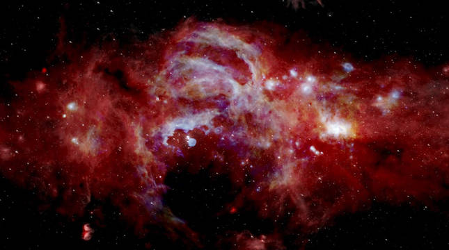 foto de Imagen del centro de la Vía Láctea