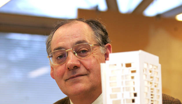 Fallece el arquitecto Domingo Pellicer, catedrático de la Universidad de Navarra