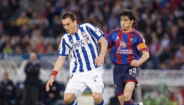 foto de El exfutbolista serbio Darko Kovacevic, cuando jugaba con la Real Sociedad
