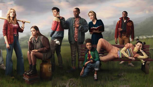 foto de Cartel de la segunda temporada de la serie 'Sex Education'