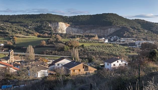 El concejo de Bearin (valle de Yerri), donde se localiza la cantera objeto del litigio.