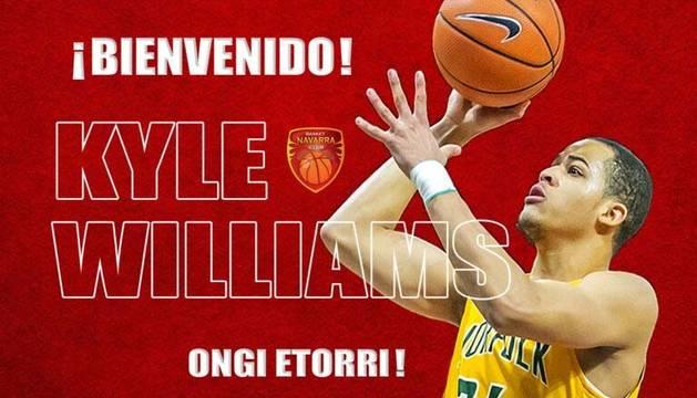 Basket Navarra refuerza su juego exterior con Kyle Williams