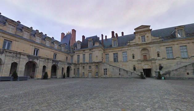 Castillo-museo de Fontainebleau (Francia).
