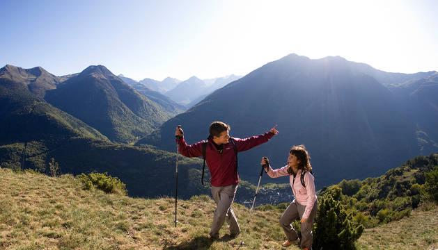 Imagen promocional del Valle de Arán.