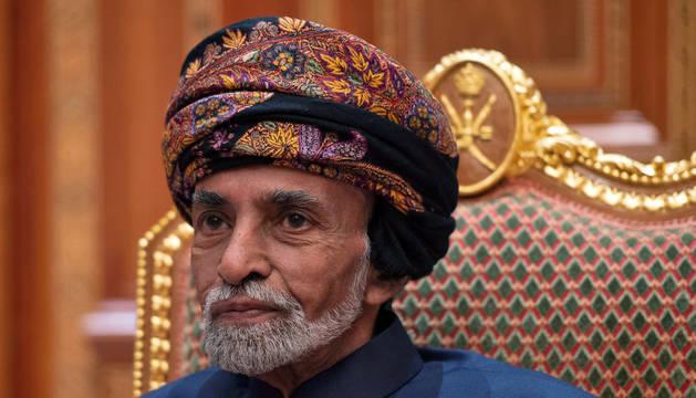 foto de Fallece Qabús bin Said, sultán de Omán, a los 79 años