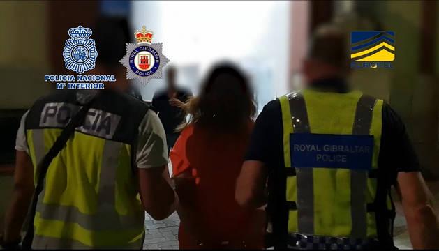 Medio centenar de detenidos por tráfico de migrantes entre Gibraltar y España