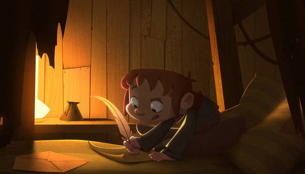 Fotograma de la película de animación 'Klaus'.