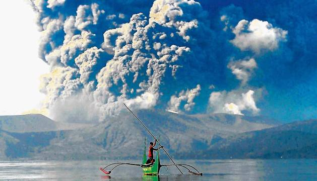 Riesgo de tsunami volcánico en Filipinas