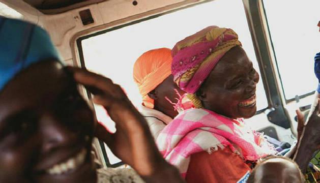 Ya se puede visitar, hasta el 31 de enero, en el vestíbulo de Civican la exposición 'Refugiadas en Camerún. Historias de superación'.