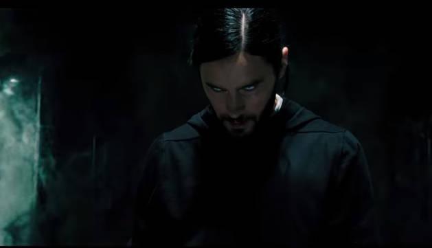 foto de Un momento del tráiler de 'Morbius' protagonizado por Jared Leto