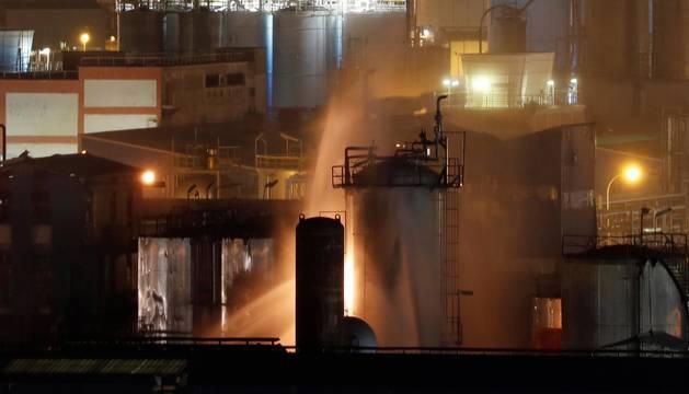 Una tapa del reactor voló tres kilómetros y mató a una de las víctimas
