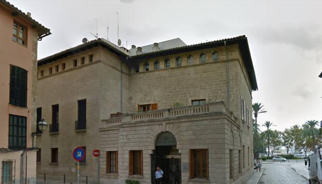 Imagen del edificio de presidencia del Govern Balear.