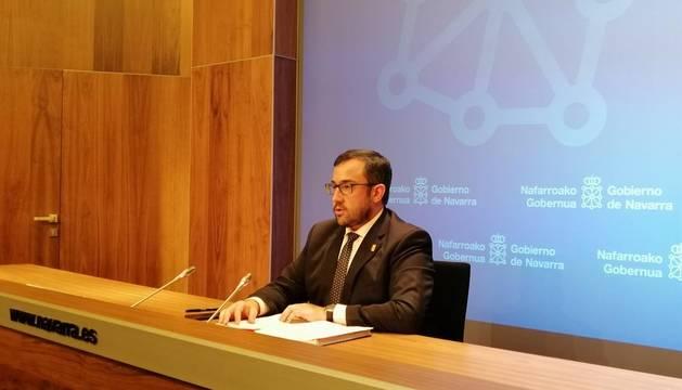 El Gobierno foral valora la propuesta sobre el techo de gasto de EH Bildu