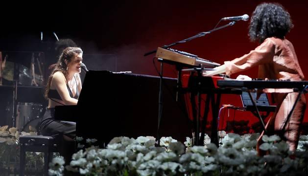 Amaia brilla con fuerza en Madrid con canciones como 'El relámpago'