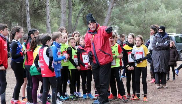 Campeonato navarro de cross de relevos mixtos en Tudela