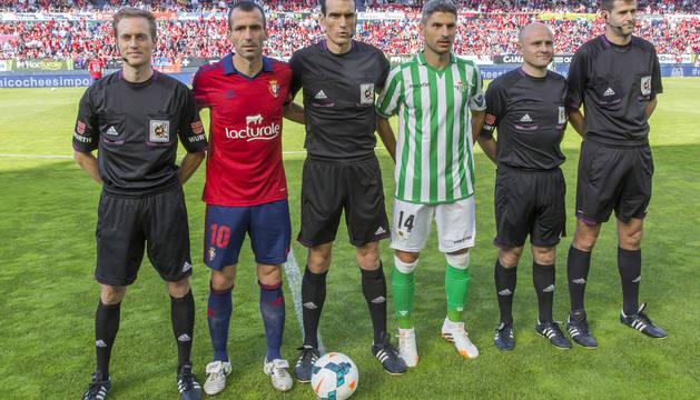 Patxi Puñal, Martínez Munuera y Salva Sevilla.