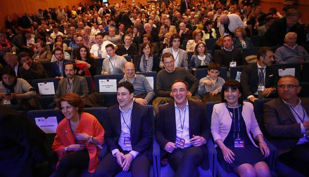 Foto de los asistentes al congreso que UPN celebró el 24 de abril de 2016, en Baluarte.