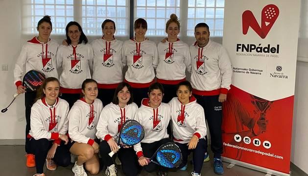 Equipo del Club Tenis Pamplona.