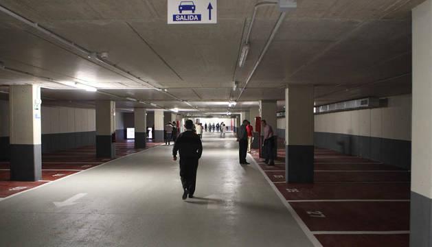 Aparcamiento subterráneo de la calle Olite.