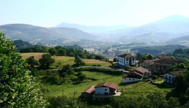 El valle del Baztán es uno de los destinos rurales por excelencia de la Comunidad foral